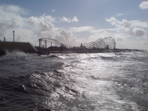 The 'Big One' from the South Pier - I