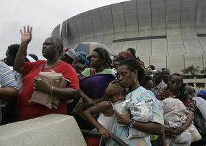 The New Orleans Superdome - Katrina
